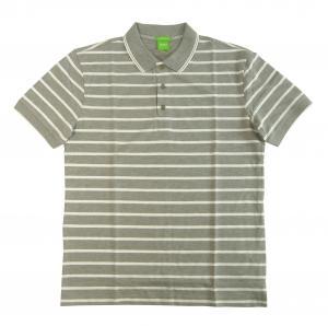 No.7 ポロシャツ ボスグリーン メンズ Paddy1 ゴルフ用 (グレー)