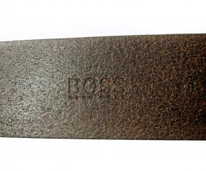 No.6 ベルト メンズ SALVO 90cm(ブラウン)