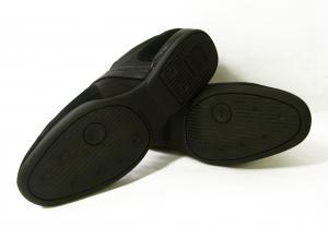 No.5 スニーカー  靴 シューズ キャンバス レザー BOSS GREEN SPACIT(ブラック)