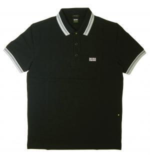 ヒューゴ・ボス ポロシャツ メンズ PADDY ゴルフ用(ブラック)