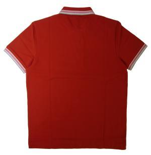 No.2 ポロシャツ メンズ PADDY ゴルフ用(レッド)