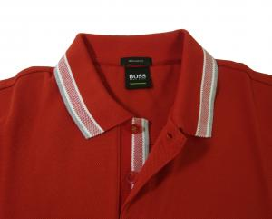 No.3 ポロシャツ メンズ PADDY ゴルフ用(レッド)