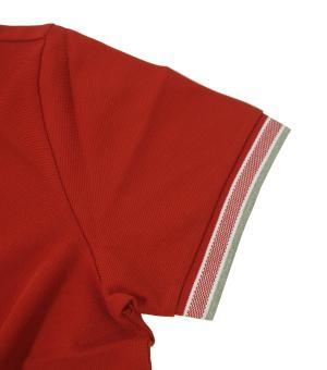 No.5 ポロシャツ メンズ PADDY ゴルフ用(レッド)