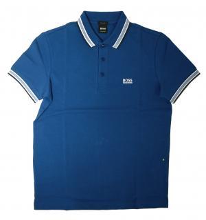 ヒューゴ・ボス ポロシャツ メンズ PADDY ゴルフ用(ブルー)
