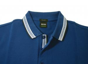 No.3 ポロシャツ メンズ PADDY ゴルフ用(ブルー)