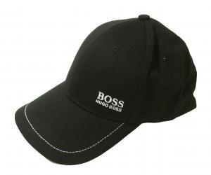 ヒューゴ・ボス 帽子 キャップ メンズ ボスグリーン  ゴルフ(ブラック)
