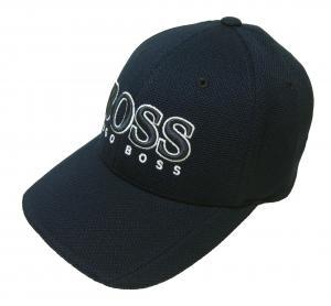 ヒューゴ・ボス 帽子 キャップ メンズ ボスグリーン  ゴルフ(ダークブルー)