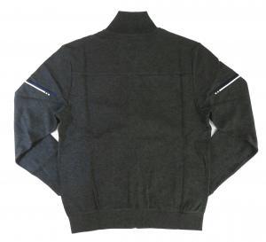 No.2 ブルゾン スウェット ジャケット ゴルフ ジップシャツ ブルー