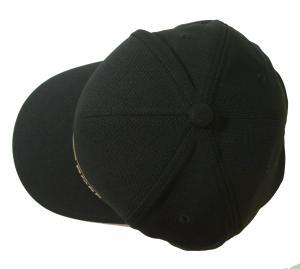 No.3 帽子 キャップ メンズ ボスグリーン  ゴルフ(ブラック)