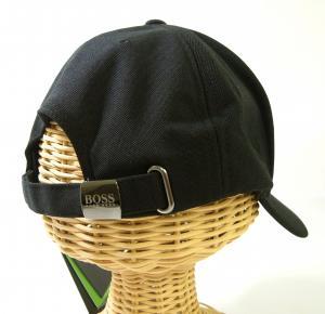 No.4 帽子 キャップ メンズ ボスグリーン  ゴルフ(ブラック)