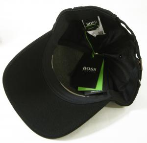 No.5 帽子 キャップ メンズ ボスグリーン  ゴルフ(ブラック)