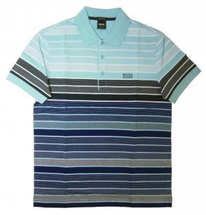 ヒューゴ・ボス ポロシャツ メンズ PADDY 3 ゴルフ用(ダークブルー)
