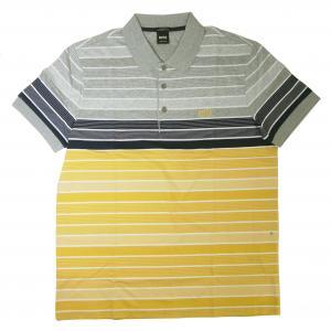 ヒューゴ・ボス ポロシャツ メンズ PADDY 3 ゴルフ用(イエロー)