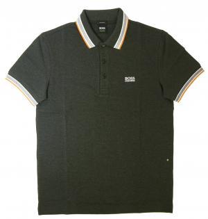 ヒューゴ・ボス ポロシャツ メンズ PADDY ゴルフ用(ダークグレー)