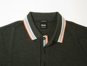 No.3 ポロシャツ メンズ PADDY ゴルフ用(ダークグレー)