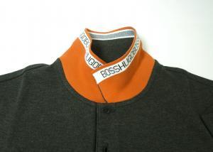 No.4 ポロシャツ メンズ PADDY ゴルフ用(ダークグレー)