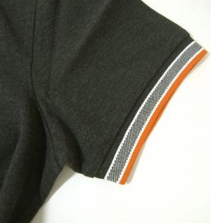 No.5 ポロシャツ メンズ PADDY ゴルフ用(ダークグレー)