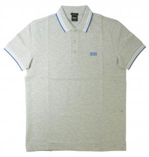 ヒューゴ・ボス ポロシャツ メンズ PADDY ゴルフ用(ライトグレー)