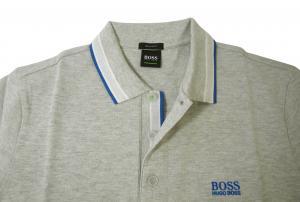 No.3 ポロシャツ メンズ PADDY ゴルフ用(ライトグレー)