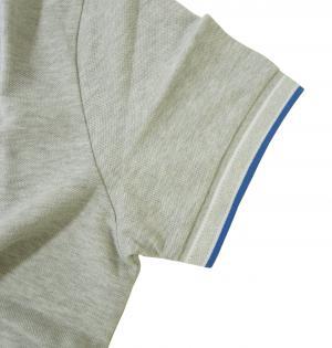 No.5 ポロシャツ メンズ PADDY ゴルフ用(ライトグレー)
