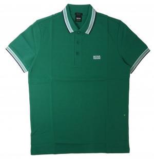 ヒューゴ・ボス ポロシャツ メンズ PADDY ゴルフ用(ダークグリーン)