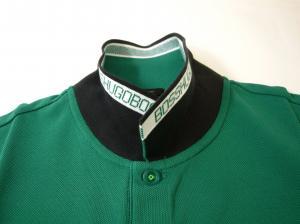 No.5 ポロシャツ メンズ PADDY ゴルフ用(ダークグリーン)