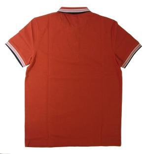 No.2 ポロシャツ メンズ PADDY ゴルフ用(ダークレッド)