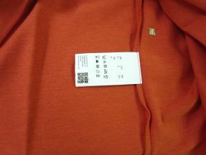 No.7 ポロシャツ メンズ PADDY ゴルフ用(ダークレッド)