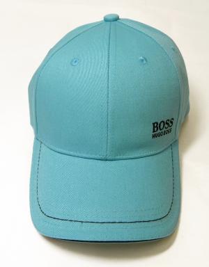 No.2 帽子 キャップ メンズ ボスグリーン  ゴルフ(ブルー)