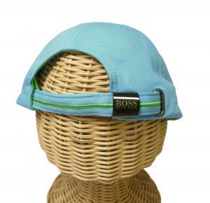 No.4 帽子 キャップ メンズ ボスグリーン  ゴルフ(ブルー)