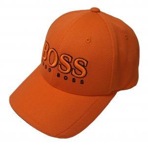 ヒューゴ・ボス 帽子 キャップ メンズ ボスグリーン  ゴルフ(オレンジ)