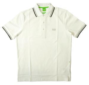 ヒューゴ・ボス ポロシャツ ボスグリーン PADDY ゴルフ用 (ホワイト)Sサイズ