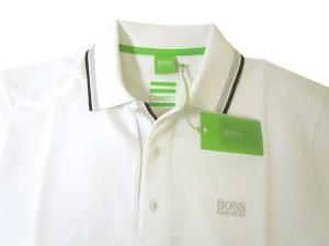 No.3 ポロシャツ ボスグリーン PADDY ゴルフ用 (ホワイト)