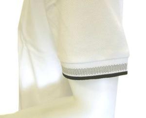 No.5 ポロシャツ ボスグリーン PADDY ゴルフ用 (ホワイト)