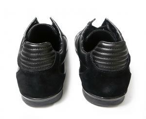 No.4 スニーカー  靴 シューズ BOSS GREEN  レザー AKI (ブラック)