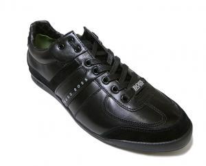 No.6 スニーカー  靴 シューズ BOSS GREEN  レザー AKI (ブラック)