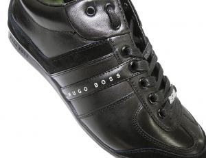 No.7 スニーカー  靴 シューズ BOSS GREEN  レザー AKI (ブラック)