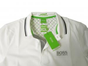 No.4 ポロシャツ ボスグリーン Sサイズ PADDY ゴルフ用 (ホワイト)