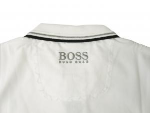 No.5 ポロシャツ ボスグリーン Sサイズ PADDY ゴルフ用 (ホワイト)