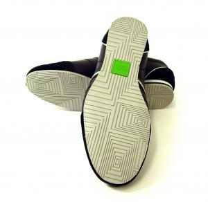 No.2 スニーカー 靴 シューズ BOSS GREEN レザー VICTOIRE LA (ブラック) 43(日本サイズ約26.5cm)