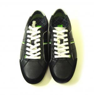 No.5 スニーカー 靴 シューズ BOSS GREEN レザー VICTOIRE LA (ブラック) 43(日本サイズ約26.5cm)