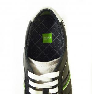 No.6 スニーカー 靴 シューズ BOSS GREEN レザー VICTOIRE LA (ブラック) 43(日本サイズ約26.5cm)