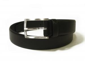 ヒューゴ・ボス ベルト メンズ 牛革 ビジネス フォーマル BARNEY (ブラック) 80cm