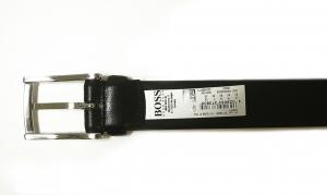 No.4 ベルト メンズ 牛革 ビジネス フォーマル BARNEY (ブラック) 80cm
