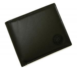 No.10 財布 メンズ BATTUE ORIGIN 二つ折 (ブラック)