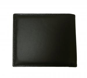 No.2 財布 メンズ BATTUE ORIGIN 二つ折 (ブラック)