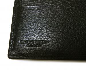 No.7 財布 メンズ BATTUE ORIGIN 二つ折 (ブラック)