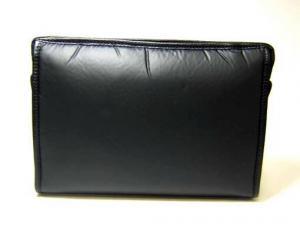 No.3 バチュー セカンドバッグ(ブラック×ブラック)