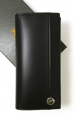 ハンティングワールド 長財布 SANDUKU-DURA 二つ折 (ブラック)