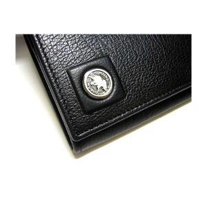 No.3 財布 TAHOE  二つ折長財布(ブラック)